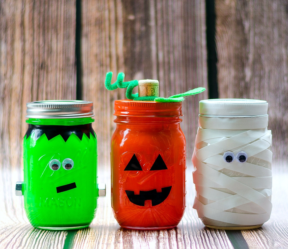 Best ideas about Mason Jar Craft Ideas . Save or Pin Halloween Mason Jars Mason Jar Crafts Love Now.