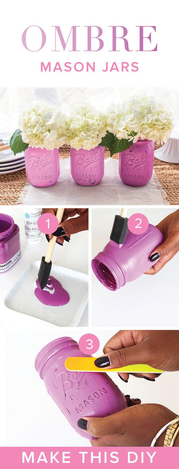 Best ideas about Mason Jar Craft Ideas . Save or Pin Ten Inspirational DIY Mason Jar Ideas For Weddings Now.