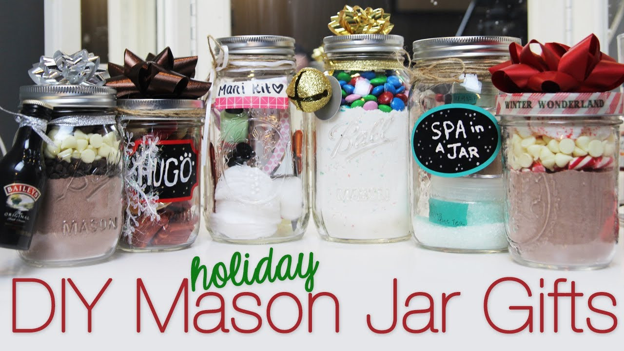 Best ideas about Mason Jar DIY Gifts . Save or Pin DIY HOLIDAY MASON JAR GIFT IDEAS on The Hunt Now.