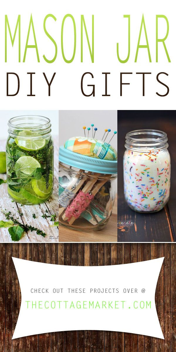 Best ideas about Mason Jar DIY Gifts . Save or Pin Mason Jar DIY Gifts The Cottage Market MasonJarDIYGifts Now.