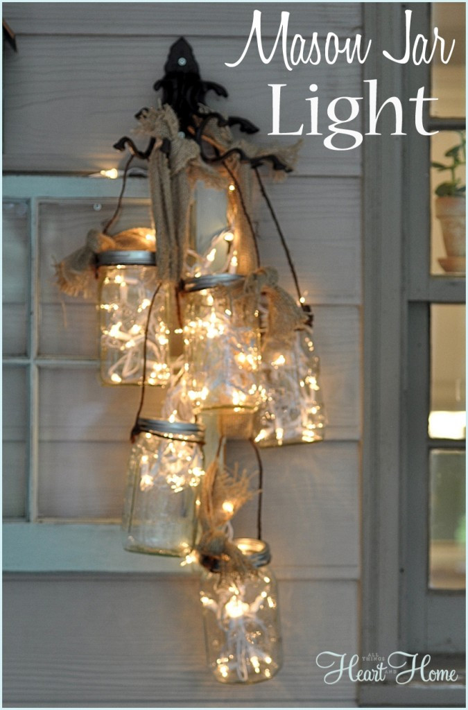 Best ideas about Mason Jar Lights DIY . Save or Pin 60 of the BEST DIY Christmas Decorations Kitchen Fun Now.