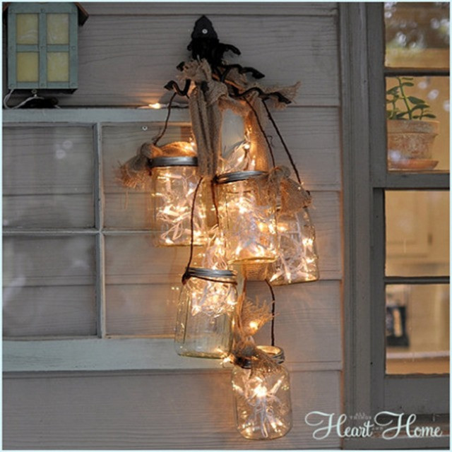 Best ideas about Mason Jar Lights DIY . Save or Pin Mason Jar Light Fixture Mason Jar Crafts Love Now.