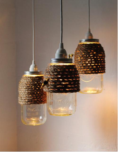Best ideas about Mason Jar Lights DIY . Save or Pin More DIY Mason Jar Lighting Ideas Now.