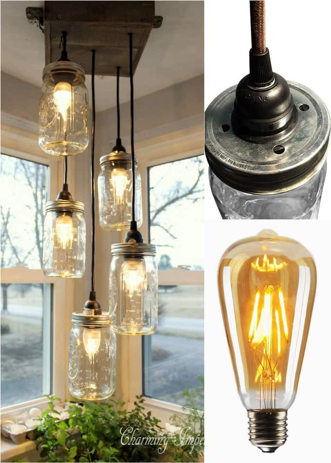 Best ideas about Mason Jar Lights DIY . Save or Pin DIY Mason Jar Lights 25 Best Tutorials Kits & Supplies Now.