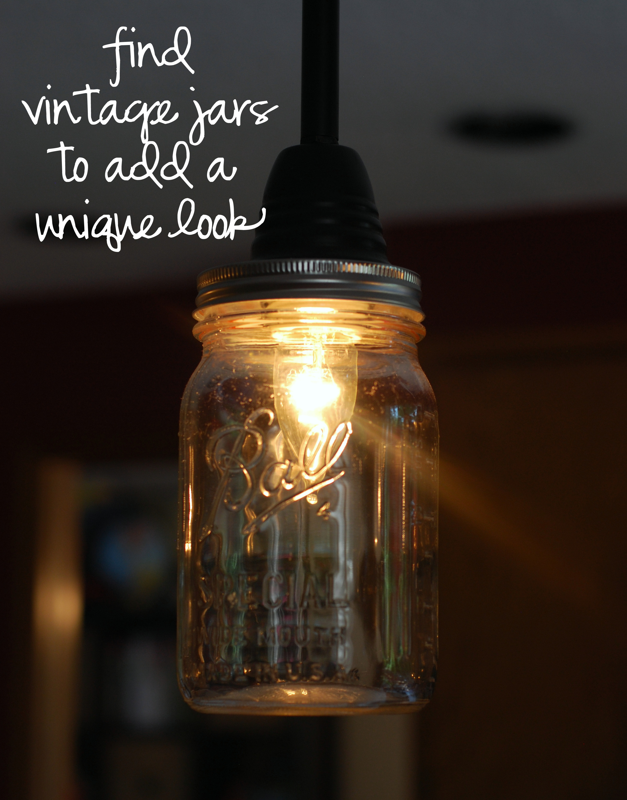 Best ideas about Mason Jar Lights DIY . Save or Pin diy mason jar pendant light – home is what you make it Now.
