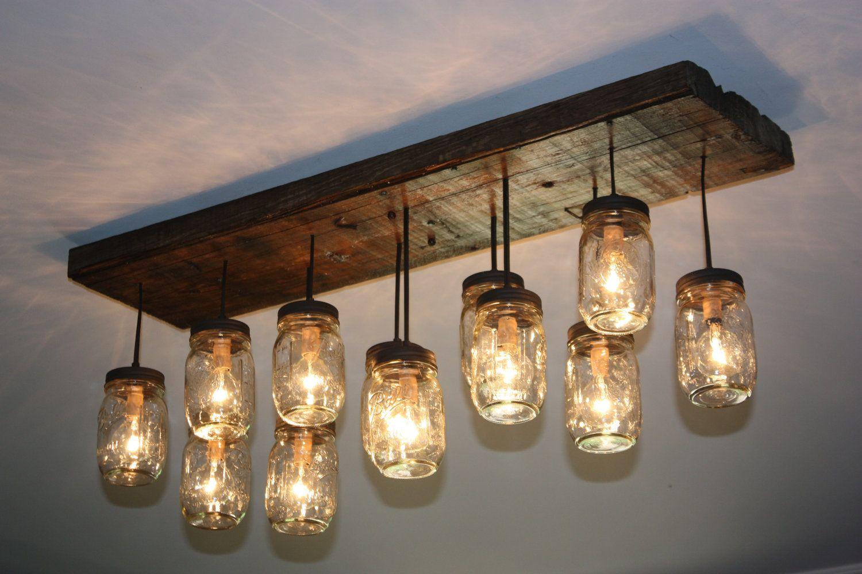 Best ideas about Mason Jar Lights DIY . Save or Pin Chandeliers Ideas Diy Chandelier Light Kit Mason Jar Track Now.