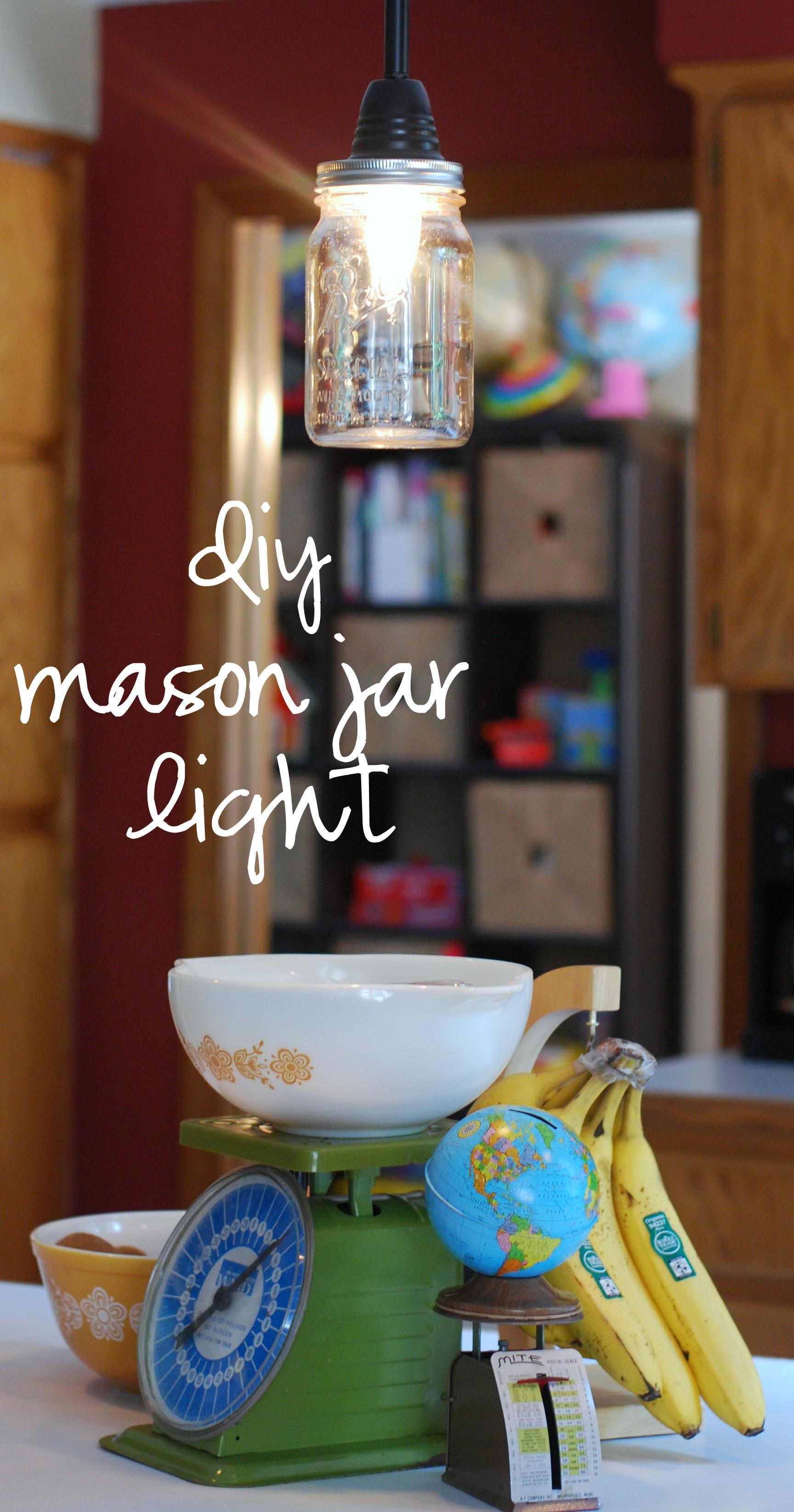 Best ideas about Mason Jar Lights DIY . Save or Pin diy mason jar pendant light Now.