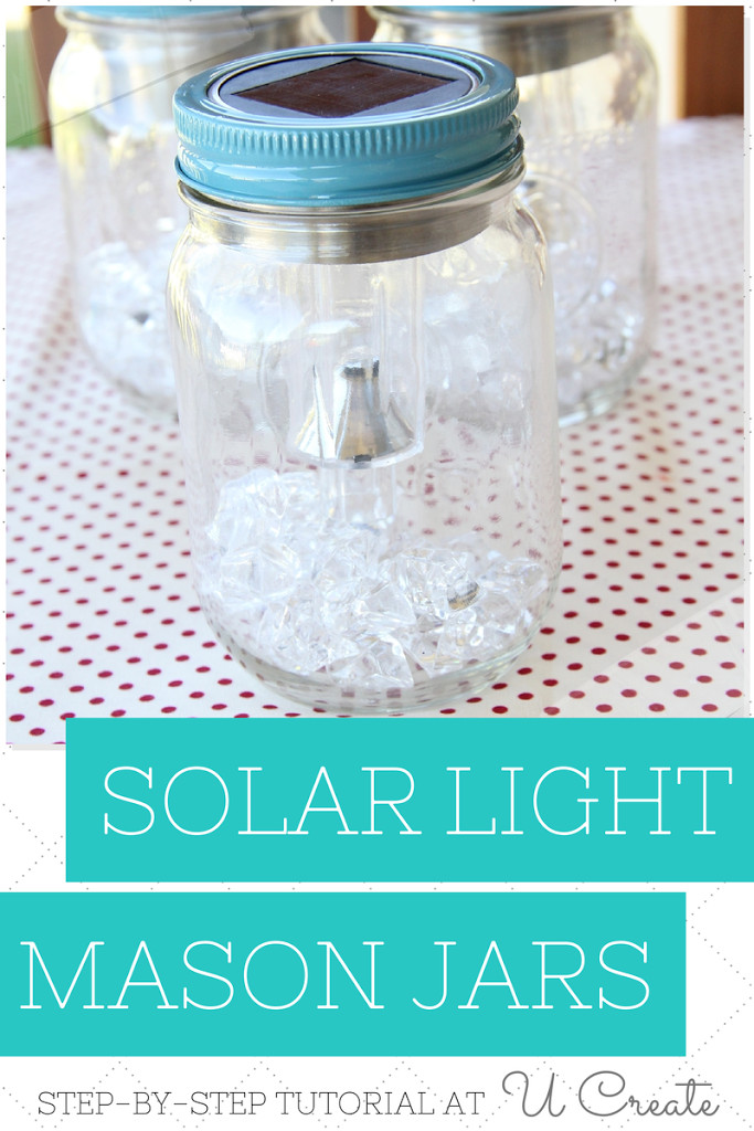 Best ideas about Mason Jars Solar Lights DIY . Save or Pin DIY Solar Light Mason Jars U Create Now.