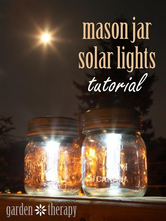 Best ideas about Mason Jars Solar Lights DIY . Save or Pin Mason Jar Solar Lights Now.