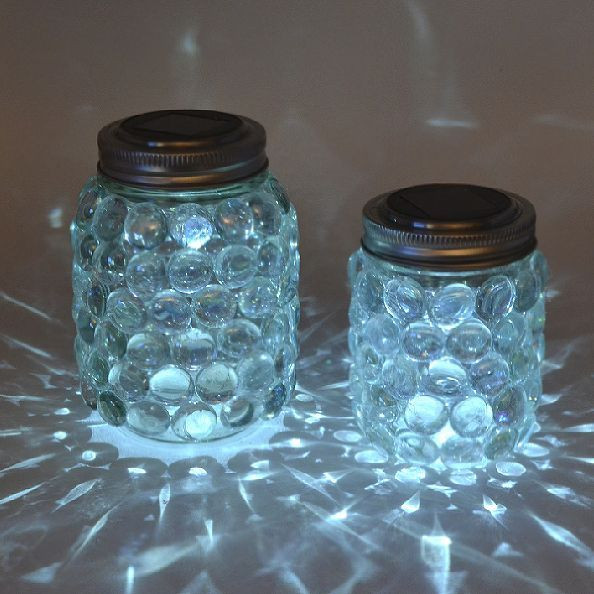Best ideas about Mason Jars Solar Lights DIY . Save or Pin DIY Backyard Lighting Ideas to Brighten up your Landscape Now.
