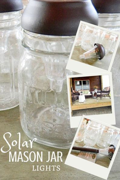 Best ideas about Mason Jars Solar Lights DIY . Save or Pin Hometalk Now.
