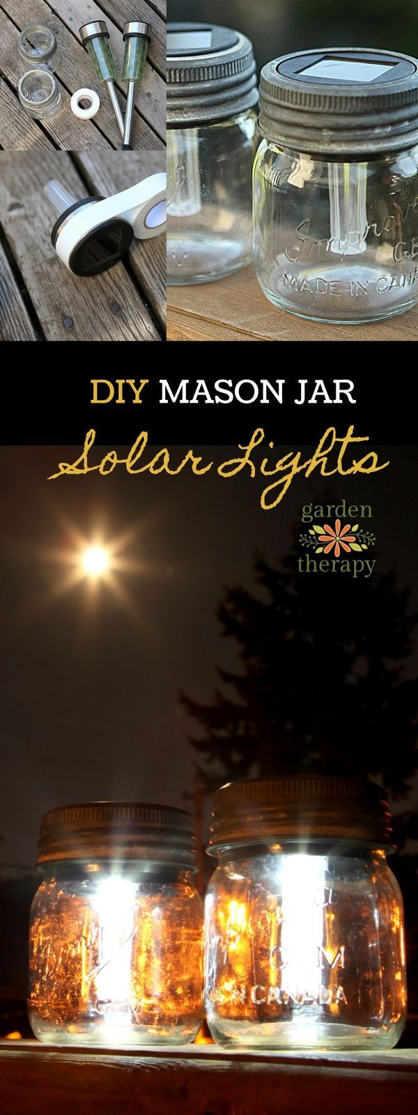 Best ideas about Mason Jars Solar Lights DIY . Save or Pin Best 25 Solar Light Crafts ideas on Pinterest Now.