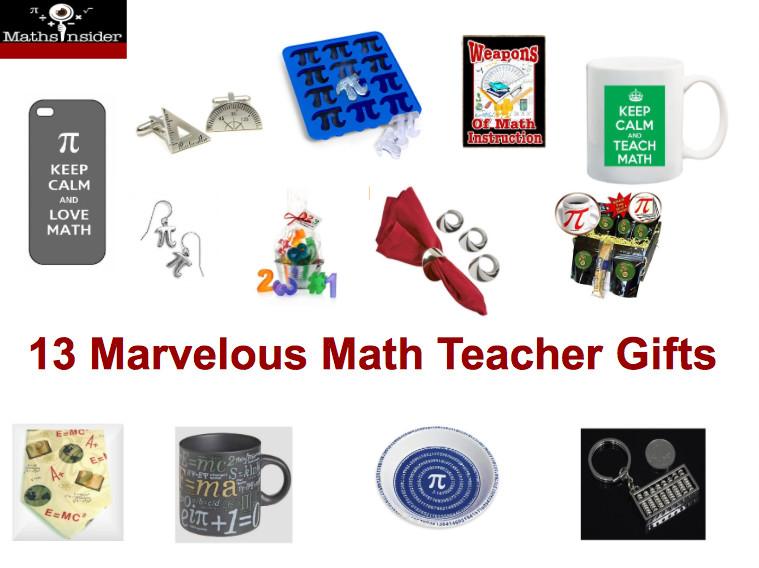 Best ideas about Math Teacher Gift Ideas . Save or Pin 13 Marvelous Math Teacher Gifts Now.