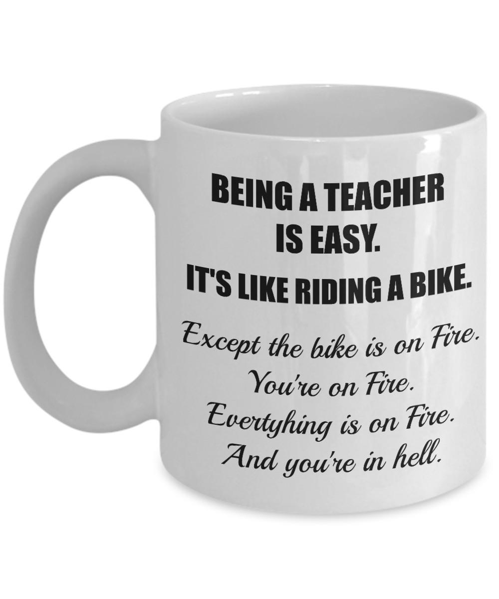 Best ideas about Math Teacher Gift Ideas . Save or Pin Yesecart Being Teacher Funny Teacher Gifts teacher Gifts Now.