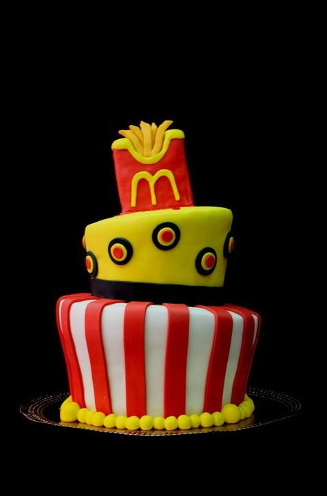 Best ideas about Mcdonalds Birthday Cake . Save or Pin McDonald s Fries Cake Now.