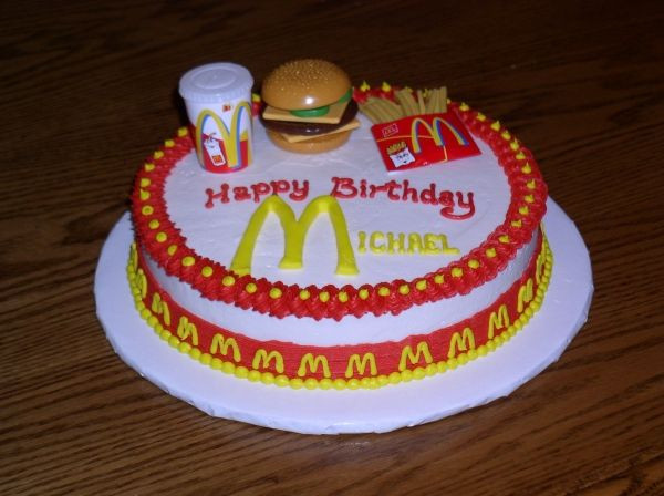 Best ideas about Mcdonalds Birthday Cake . Save or Pin McDonalds Cake Cakes in 2019 Now.