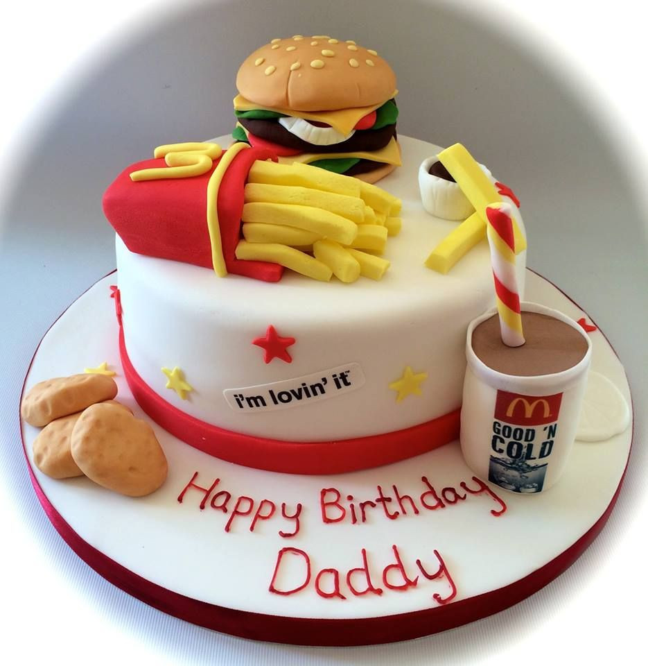 Best ideas about Mcdonalds Birthday Cake . Save or Pin McDonalds take away themed birthday cake by Now.