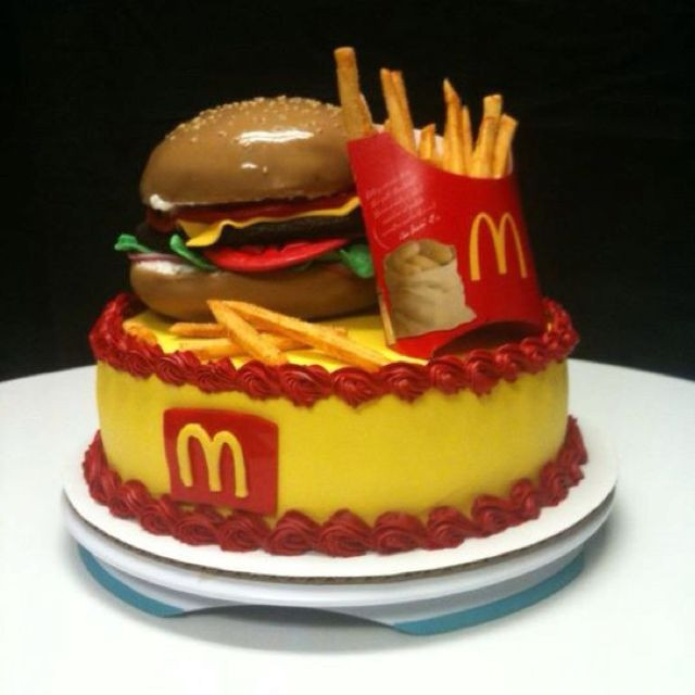 Best ideas about Mcdonalds Birthday Cake . Save or Pin McDonald s Cake I don t eat at McDonald s but might try to Now.