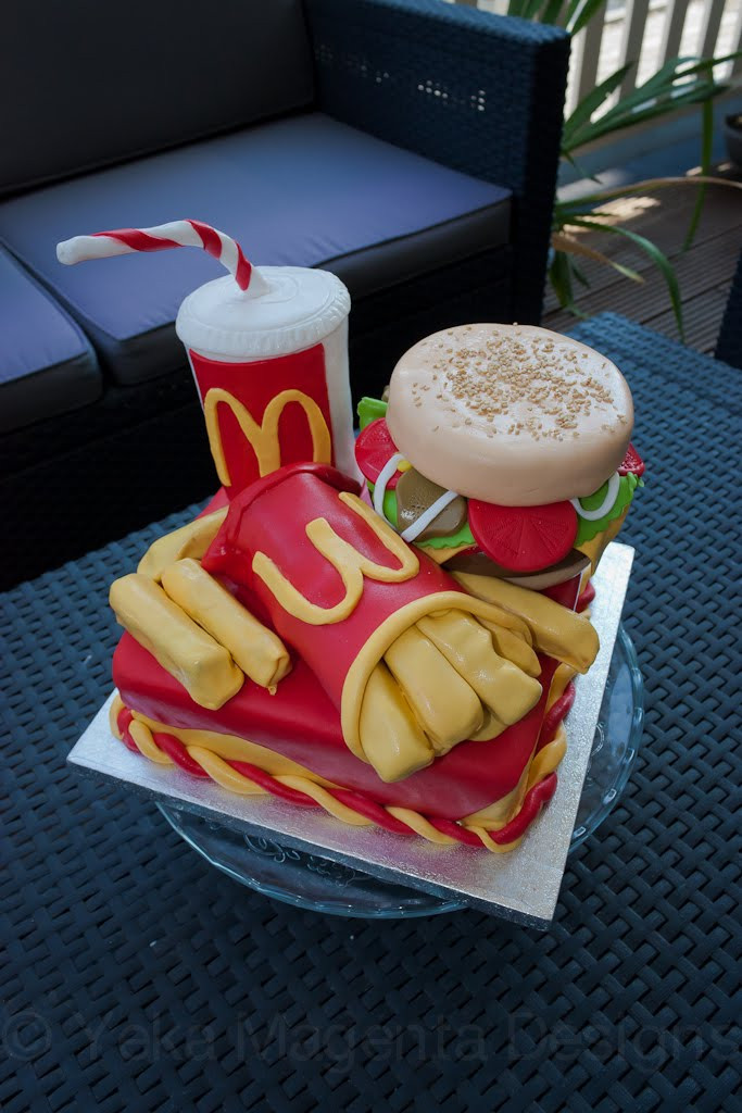 Best ideas about Mcdonalds Birthday Cake . Save or Pin McDonalds Cake Cakes Now.