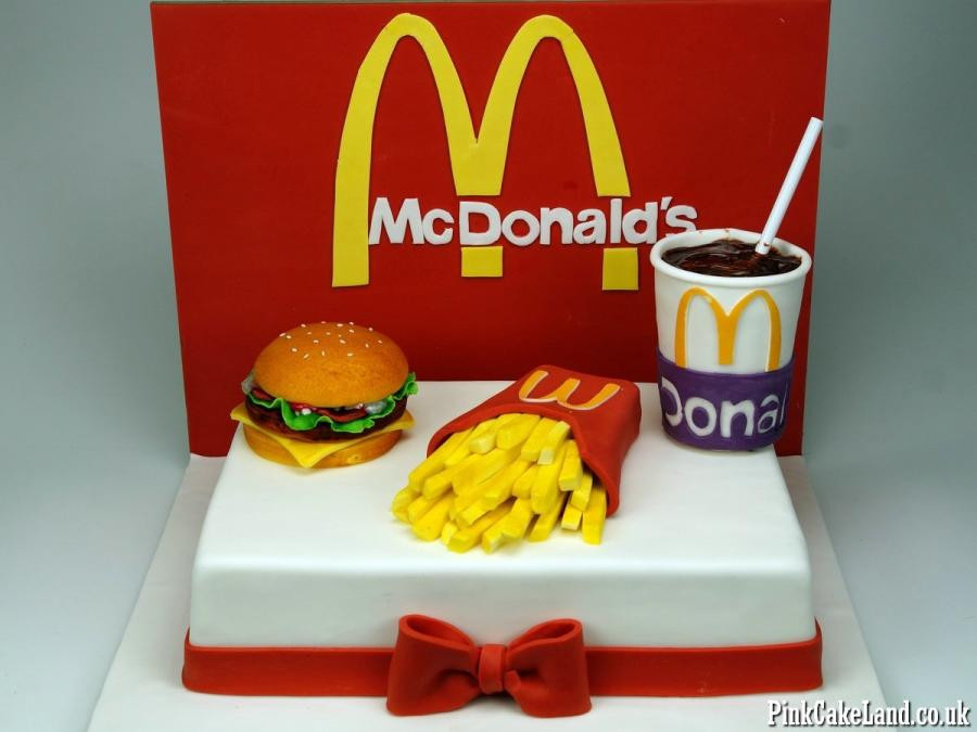 Best ideas about Mcdonalds Birthday Cake . Save or Pin McDonald s Cake cake by Beatrice Maria CakesDecor Now.