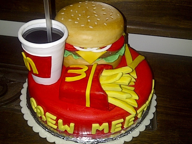 Best ideas about Mcdonalds Birthday Cake . Save or Pin 12 Cakes That Look Like Fast Food Specialties Now.