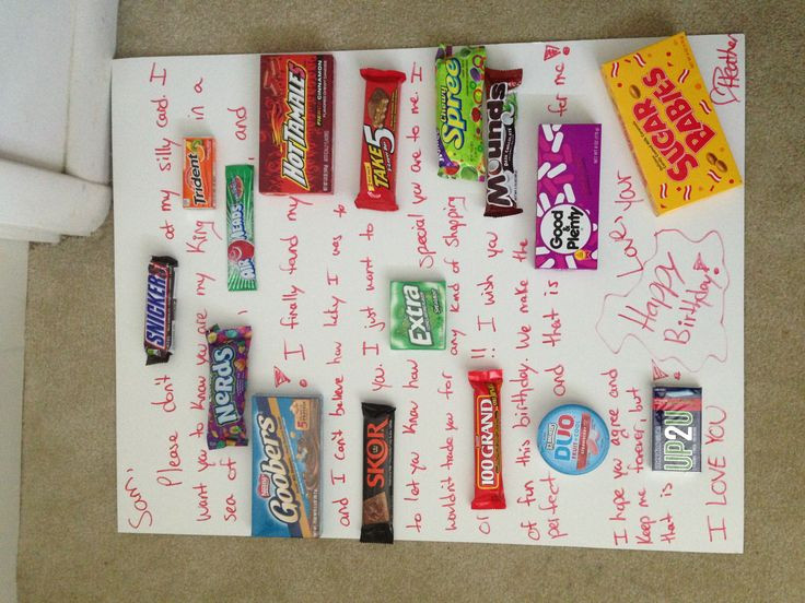 Best ideas about Meaningful Birthday Gifts . Save or Pin 17 Best ideas about Candy Card Boyfriend on Pinterest Now.