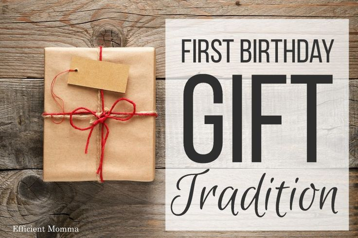 Best ideas about Meaningful Birthday Gifts . Save or Pin First Birthday Gift Tradition what to your one year Now.