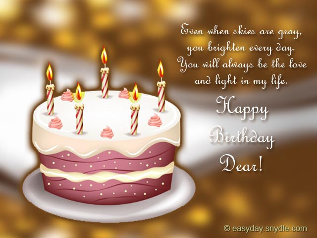 Best ideas about Meaningful Birthday Wish . Save or Pin 30 Meaningful Most Sweet Happy Birthday Wishes Now.