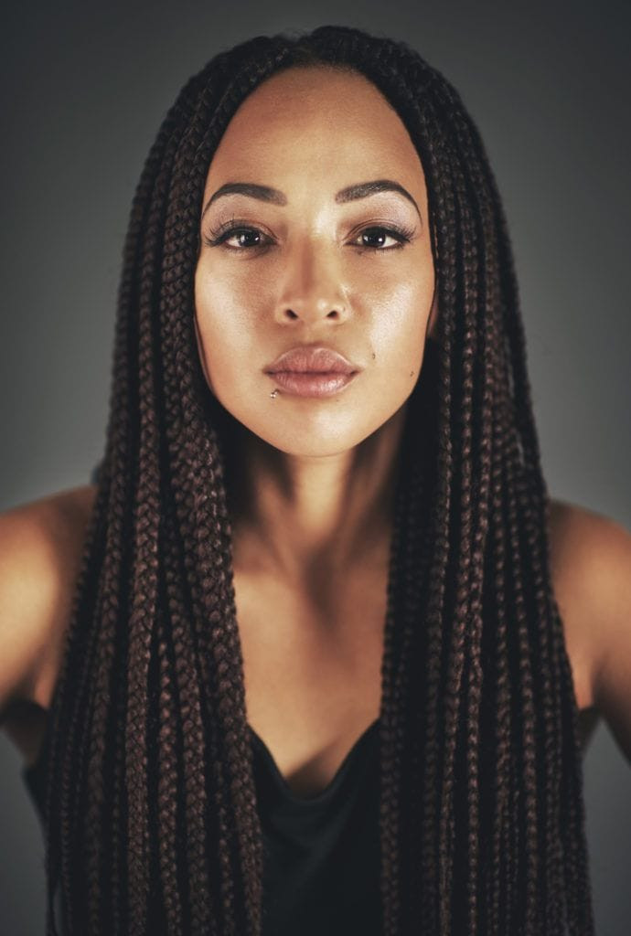 Best ideas about Medium Braids Hairstyles . Save or Pin 12 Stylish Medium Box Braids That are Trending in 2019 Now.