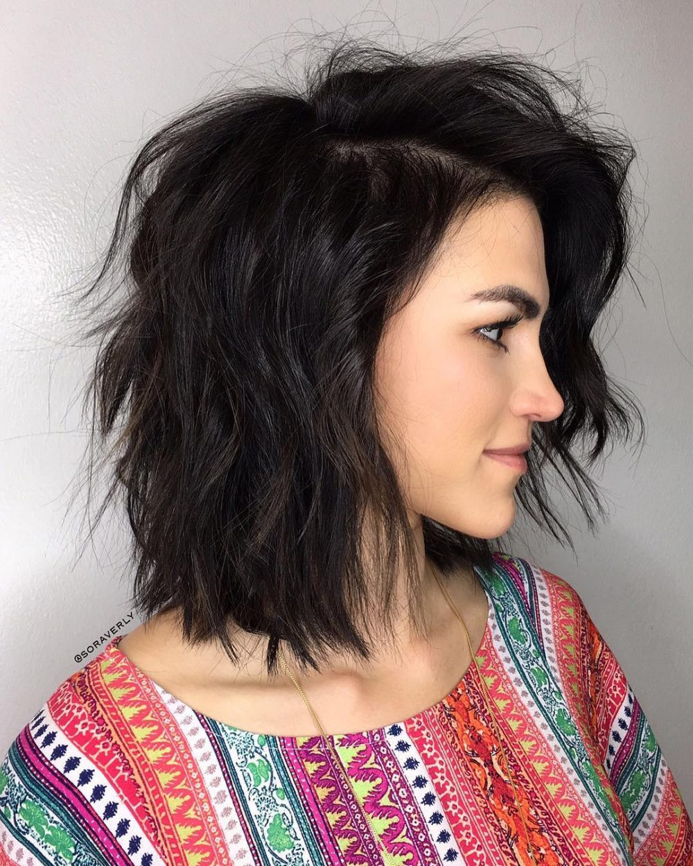 Best ideas about Medium Choppy Hair Cut . Save or Pin 51 Stunning Medium Layered Haircuts Updated for 2018 Now.