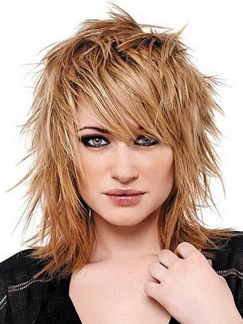Best ideas about Medium Choppy Hair Cut . Save or Pin Short Trendy Hairstyles Now.