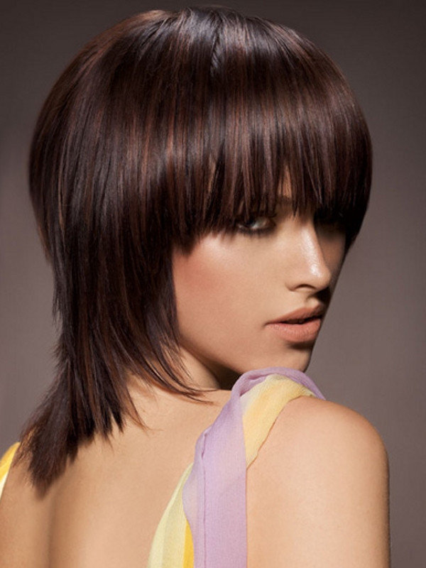Best ideas about Medium Choppy Hair Cut . Save or Pin Easy to Style Medium Haircuts 2012 Now.