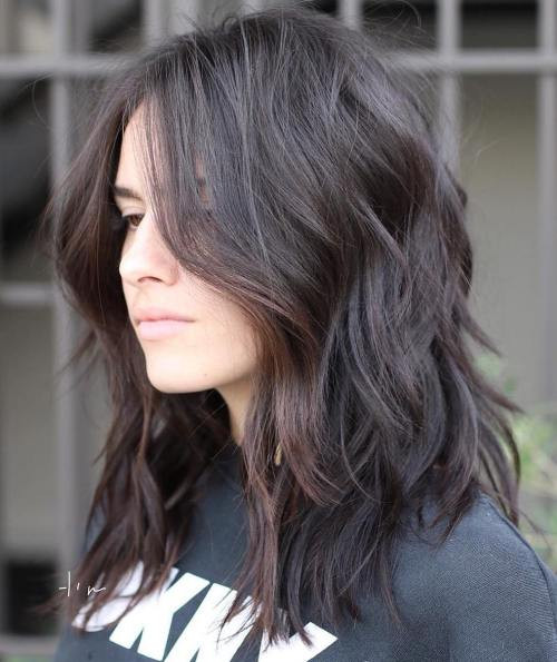 Best ideas about Medium Choppy Hair Cut . Save or Pin 70 Brightest Medium Length Layered Haircuts and Hairstyles Now.
