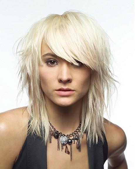 Best ideas about Medium Choppy Hair Cut . Save or Pin Medium choppy hairstyles with bangs Now.