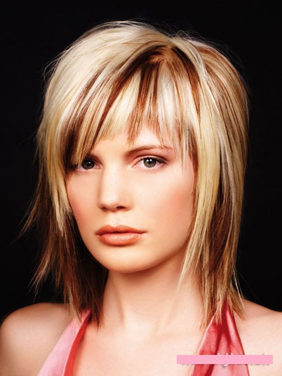Best ideas about Medium Choppy Hair Cut . Save or Pin Up hair styles are not difficult to make Now.