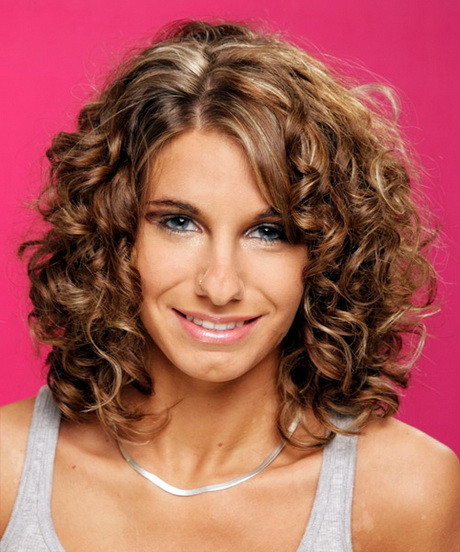 Best ideas about Medium Curly Haircuts . Save or Pin Curly medium length hairstyles 2015 Now.