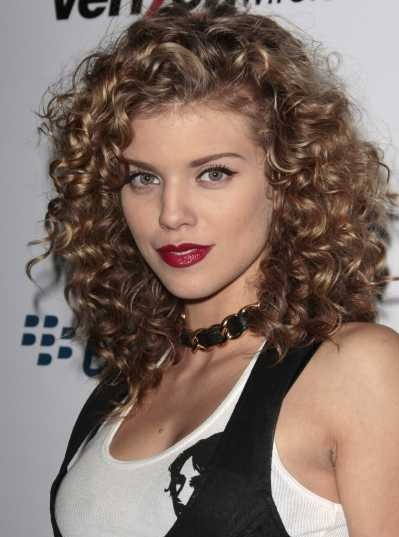 Best ideas about Medium Curly Haircuts . Save or Pin medium length curly hair styles 11 Now.