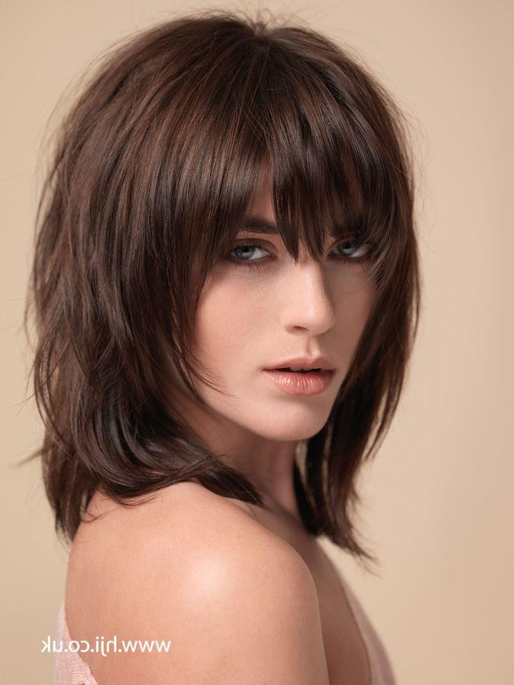 Best ideas about Medium Hairstyle Pinterest . Save or Pin 15 Best Collection of Short To Medium Shaggy Hairstyles Now.