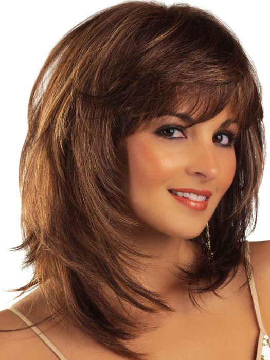 Best ideas about Medium Hairstyle Pinterest . Save or Pin 17 Best ideas about Shoulder Length Bobs on Pinterest Now.