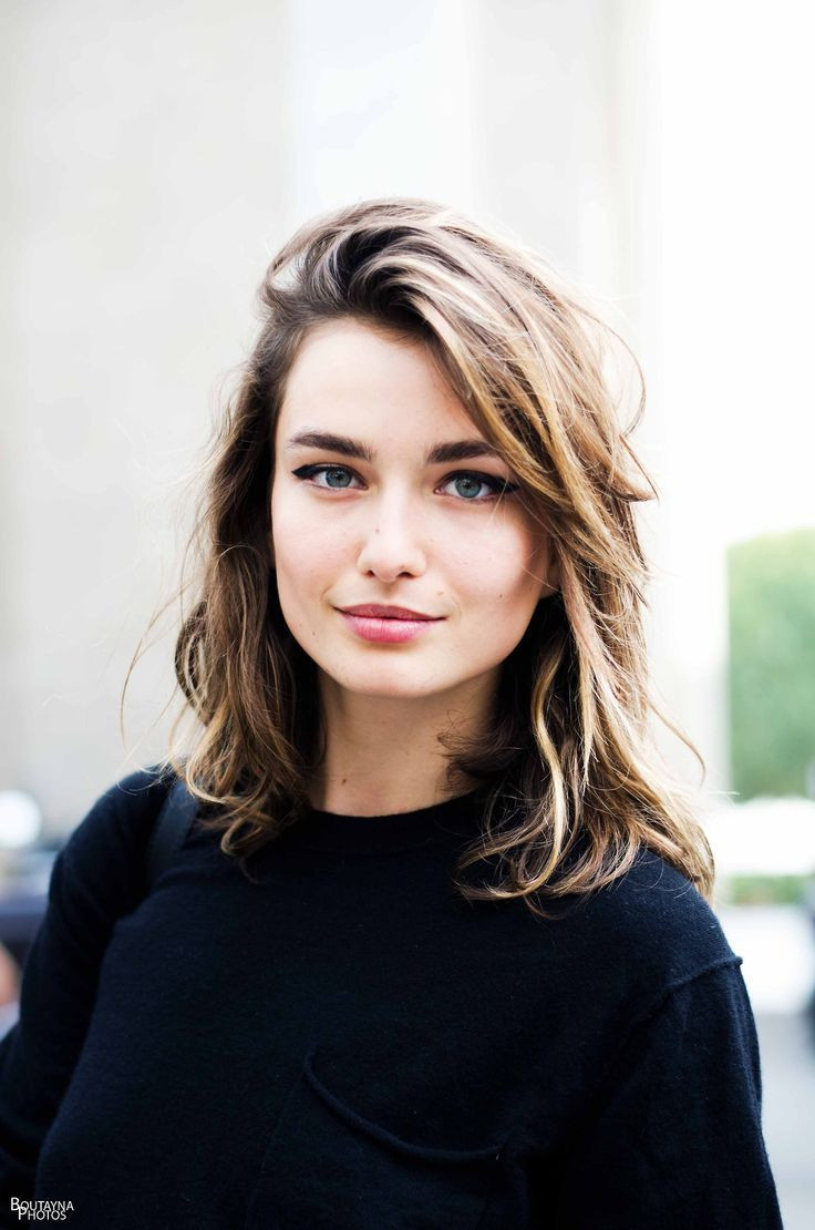 Best ideas about Medium Length Hairstyle Pinterest . Save or Pin Messy Medium Length Hair s and for Now.