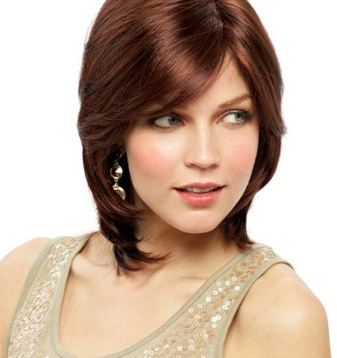 Best ideas about Medium Length Hairstyles For Oval Faces . Save or Pin 30 Tremendous Medium Haircuts For Oval Faces Elle Hairstyles Now.