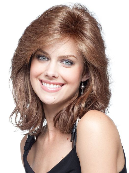 Best ideas about Medium Length Hairstyles For Oval Faces . Save or Pin 32 best Rene Paris Noriko images on Pinterest Now.