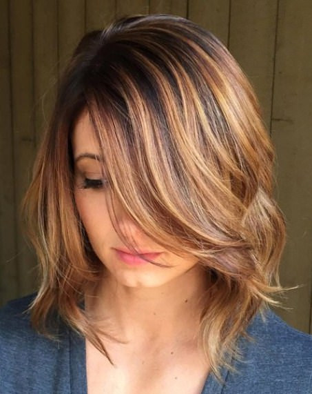 Best ideas about Medium Length Hairstyles For Thick Wavy Hair . Save or Pin 20 Medium Length Haircuts for Thick Hair Now.
