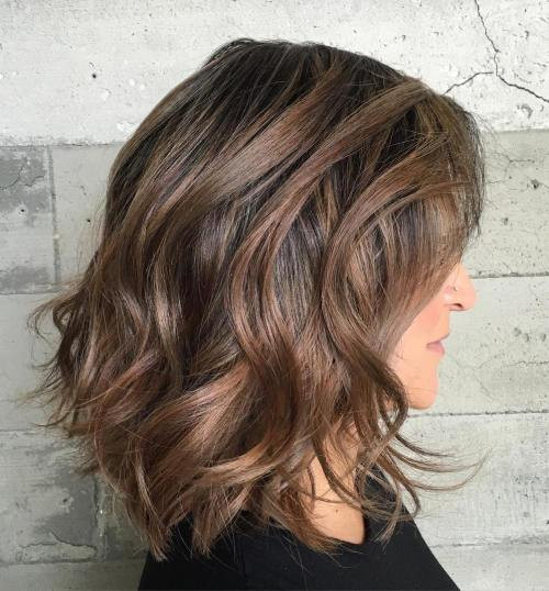Best ideas about Medium Length Hairstyles For Thick Wavy Hair . Save or Pin 60 Most Magnetizing Hairstyles for Thick Wavy Hair Now.