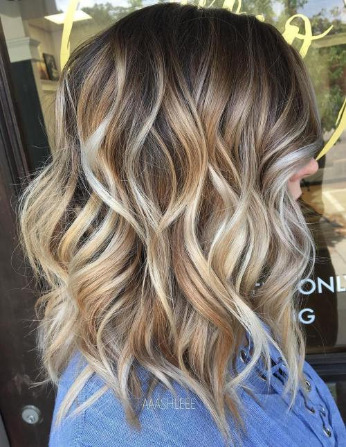 Best ideas about Medium Length Hairstyles For Thick Wavy Hair . Save or Pin 80 Sensational Medium Length Haircuts for Thick Hair in 2019 Now.