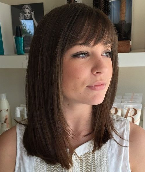 Best ideas about Medium Length Hairstyles Straight . Save or Pin 40 Best Medium Straight Hairstyles and Haircuts – Stylish Now.