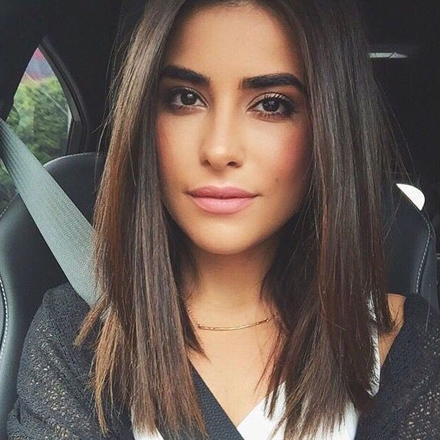 Best ideas about Medium Length Hairstyles Straight . Save or Pin Best 25 Shoulder length straight hair ideas on Pinterest Now.