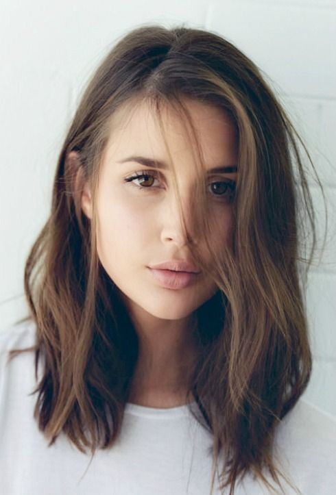 Best ideas about Medium Length Hairstyles Tumblr . Save or Pin Best 25 Straight long bob ideas on Pinterest Now.