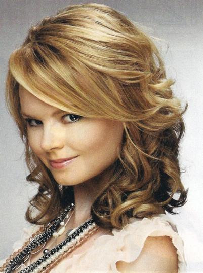 Best ideas about Medium Length Hairstyles Tumblr . Save or Pin Curly Hairstyles Prom Wavy Now.