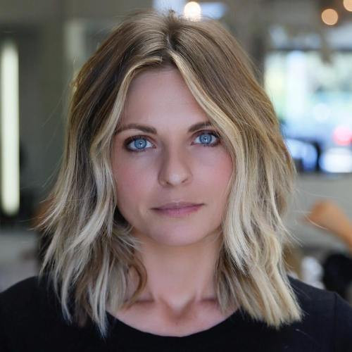 Best ideas about Medium Length Thin Hairstyles . Save or Pin 70 Perfect Medium Length Hairstyles for Thin Hair in 2019 Now.